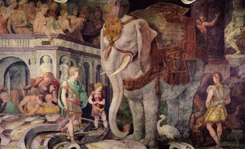 Замок ФОНТЕНБЛО – подражание античной вилле или парадоксы архитектурного воплощения